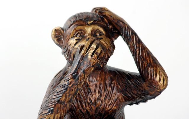 macaco mudo