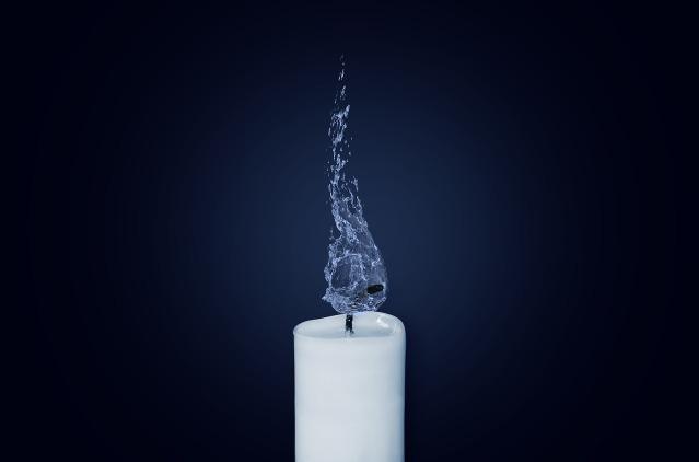 vela apagada